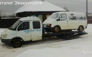 Эвакуатор в городе Глазов Константин 24 ч. — цена от 800 руб