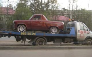 Эвакуатор в городе Всеволожск Автопомощь 24 ч. — цена от 1000 руб