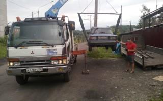Эвакуатор в городе Междуреченск Роман 24 ч. — цена от 800 руб