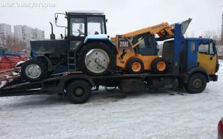 Эвакуатор в городе Люберцы Сила Дорог 24 ч. — цена от 2000 руб