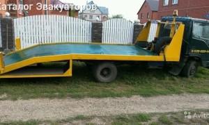 Эвакуатор в городе Ефремов Евгений 24 ч. — цена от 800 руб