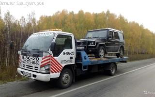 Эвакуатор в городе Кыштым Андрей 24 ч. — цена от 800 руб
