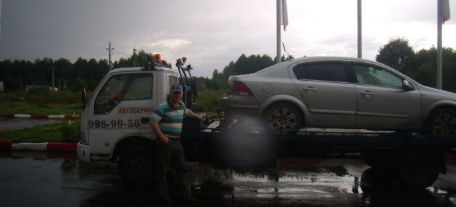 Эвакуатор в городе Тотьма Эвакуатор 24 ч. — цена от 800 руб