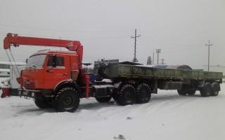 Эвакуатор в городе Ноябрьск Павел 24 ч. — цена от 800 руб