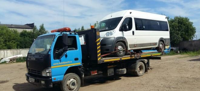 Эвакуатор в городе Киржач Autospas 33 24 ч. — цена от 2000 руб