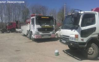 Эвакуатор в городе Владивосток ООО Автоплаза ДВ 24 ч. — цена от 500 руб