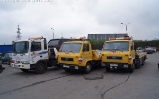 Эвакуатор в городе Мурманск Ангар 51 24 ч. — цена от 800 руб