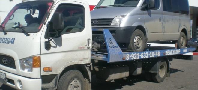 Эвакуатор в городе Сланцы ИП Власкин 24 ч. — цена от 800 руб