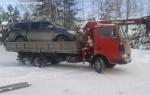 Эвакуатор в городе Тобольск Иван 24 ч. — цена от 800 руб