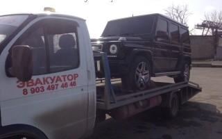 Эвакуатор в городе Нальчик Артем 24 ч. — цена от 800 руб
