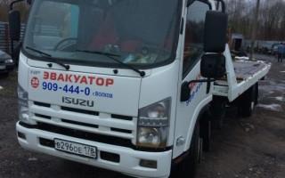 Эвакуатор в городе Волхов ИП Филиппов М В 24 ч. — цена от 800 руб
