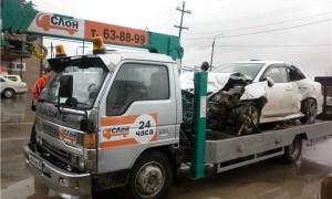 Эвакуатор в городе Южно-Сахалинск Служба эвакуации Слон 24 ч. — цена от 800 руб