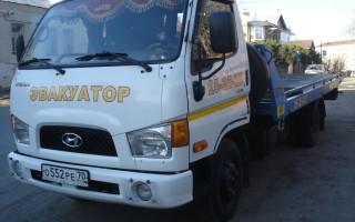 Эвакуатор в городе Томск Эвакуатор 24 ч. — цена от 1000 руб