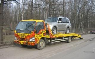 Эвакуатор в городе Гатчина Виктор 24 ч. — цена от 800 руб