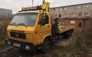 Эвакуатор в городе Бронницы Сергей 24 ч. — цена от 1000 руб