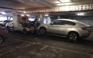 Эвакуация с подземной парковки в Москве и всей России