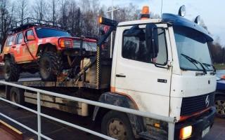 Эвакуатор в городе Кингисепп Олег 24 ч. — цена от 800 руб