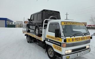 Эвакуатор в городе Абакан Автоэвакуатор 24 ч. — цена от 800 руб