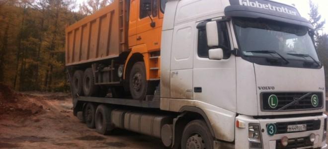 Эвакуатор в городе Иркутск Volvo Trak 24 ч. — цена от 500 руб
