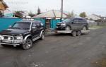 Эвакуатор в городе Бийск Прицеп-Автовоз 24 ч. — цена от 800 руб