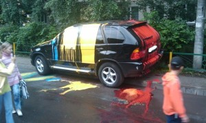 Как вызвать эвакуатор для неправильно припаркованной машины?