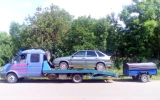 Эвакуатор в городе Каневская Александр 24 ч. — цена от 800 руб