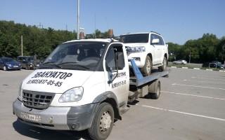 Эвакуатор в городе Гусь-Хрустальный ВладТрансАвто 24 ч. — цена от 1000 руб