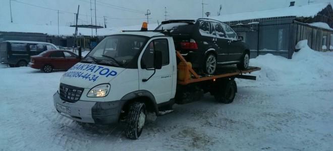 Эвакуатор в городе Губкинский Евгений 24 ч. — цена от 800 руб