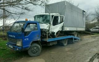 Эвакуатор в городе Ахтырский Эвакуатор 24 ч. — цена от 800 руб