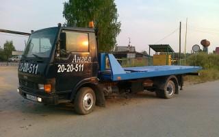 Эвакуатор в городе Екатеринбург Ангел 24 ч. — цена от 1200 руб
