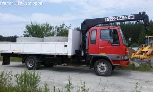 Эвакуатор в городе Верхняя Пышма Александр 24 ч. — цена от 800 руб