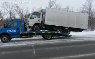 Эвакуатор в городе Оренбург Эвакуатор 24 ч. — цена от 800 руб
