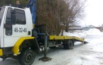 Эвакуатор в городе Сарапул ИП Баранов 24 ч. — цена от 500 руб