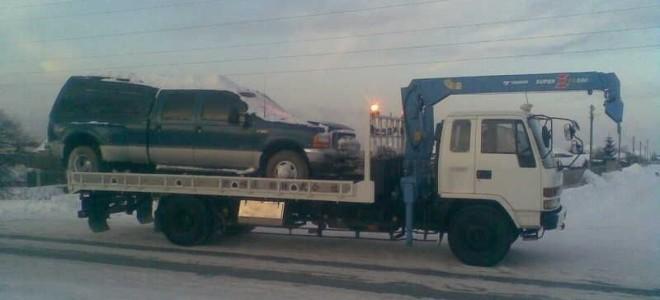 Эвакуатор в городе Биробиджан Эвакуатор 24 ч. — цена от 800 руб